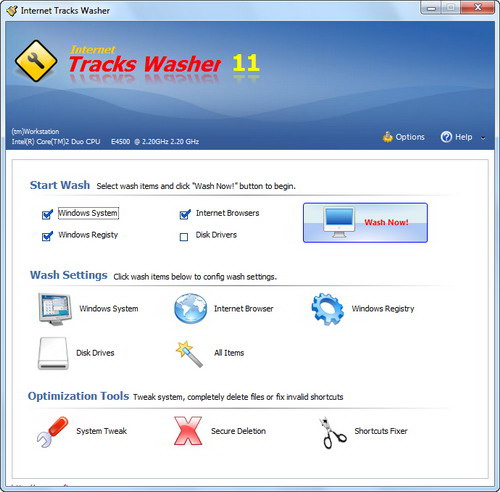 Click to view Internet Tracks Washer 12 screenshot